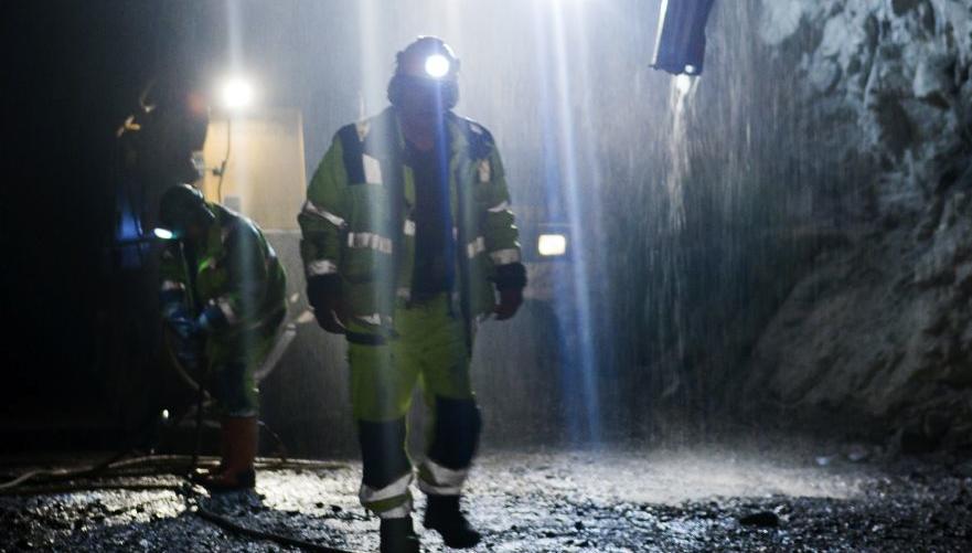 Anläggningsarbetare är särskilt utsatta när det gäller arbetsrelaterade besvär. (Bilden är beskuren) Foto: Micke Lundström