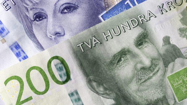 Svenska sedlar. Foto: Colourbox