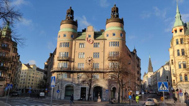LO-borgen vid Norra bantorget i Stockholm.