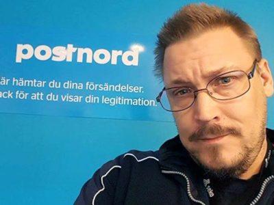 Daniel Witoslaw på Veddestaterminalen.