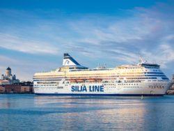 Silja Serenade i Helsingfors.